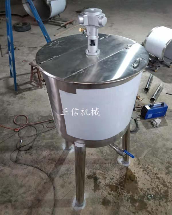 气动调速搅拌机 不绣钢搅拌桶