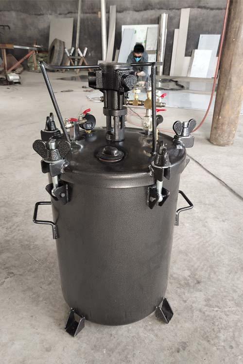 气动搅拌压力桶 压力喷涂机 不绣钢混合喷涂桶