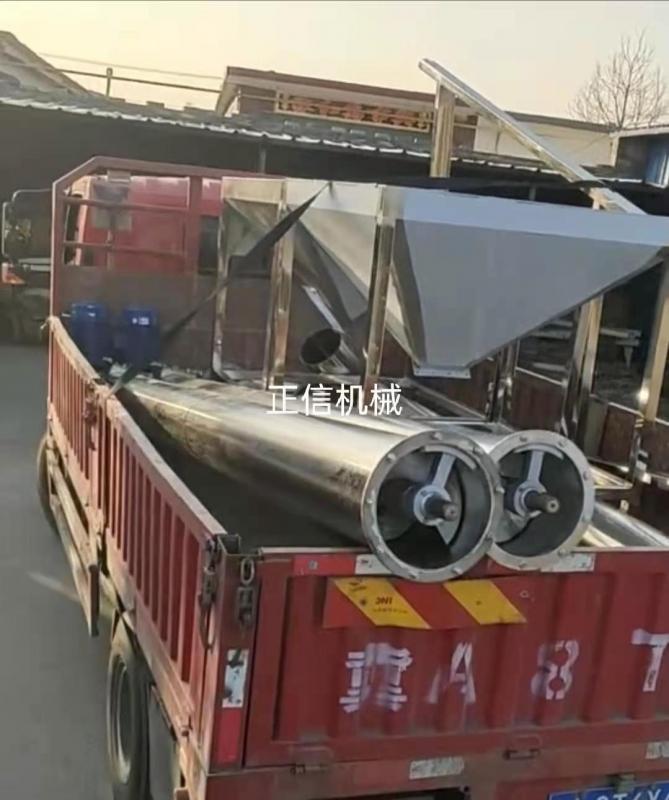 江西定制大型输送机发货