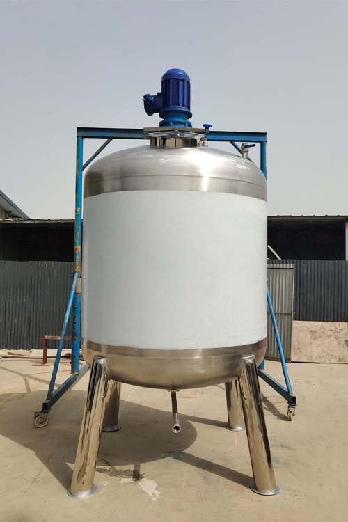 不绣钢搅拌罐厂家 液体搅拌罐 加热配液桶