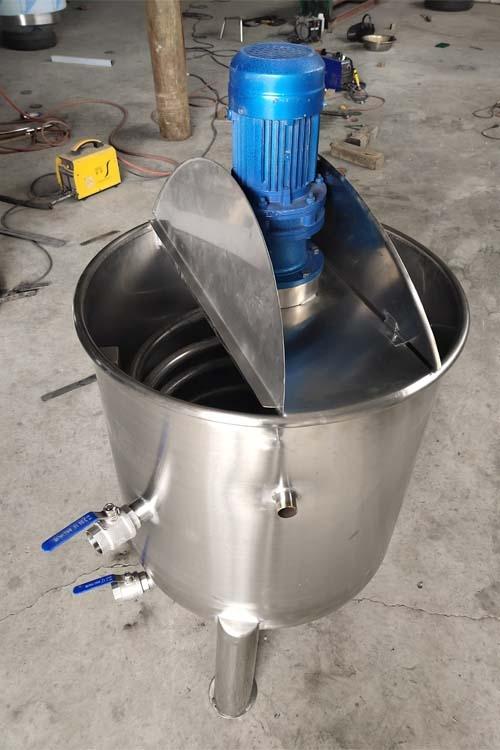 内盘管搅拌罐 电动搅拌罐 500升搅拌罐