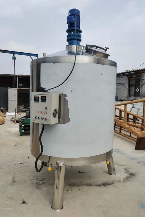 4吨搅拌罐 单层加热搅拌罐 车用尿素溶解罐