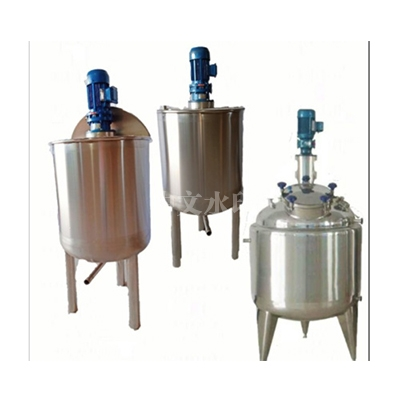 不锈钢液体电加热搅拌桶强力搅拌机混合乳化机不锈钢反应釜