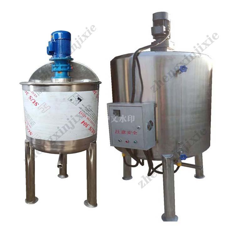 江苏立式配料桶洗洁精搅拌桶 夹层锅