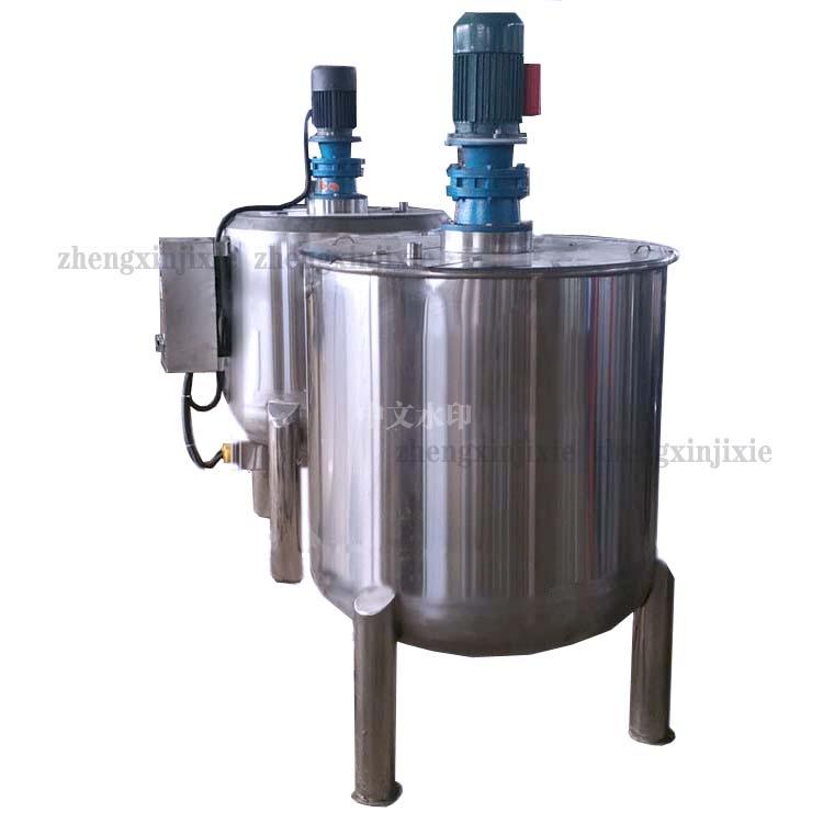 大型立式液体搅拌桶 不锈钢搅拌罐