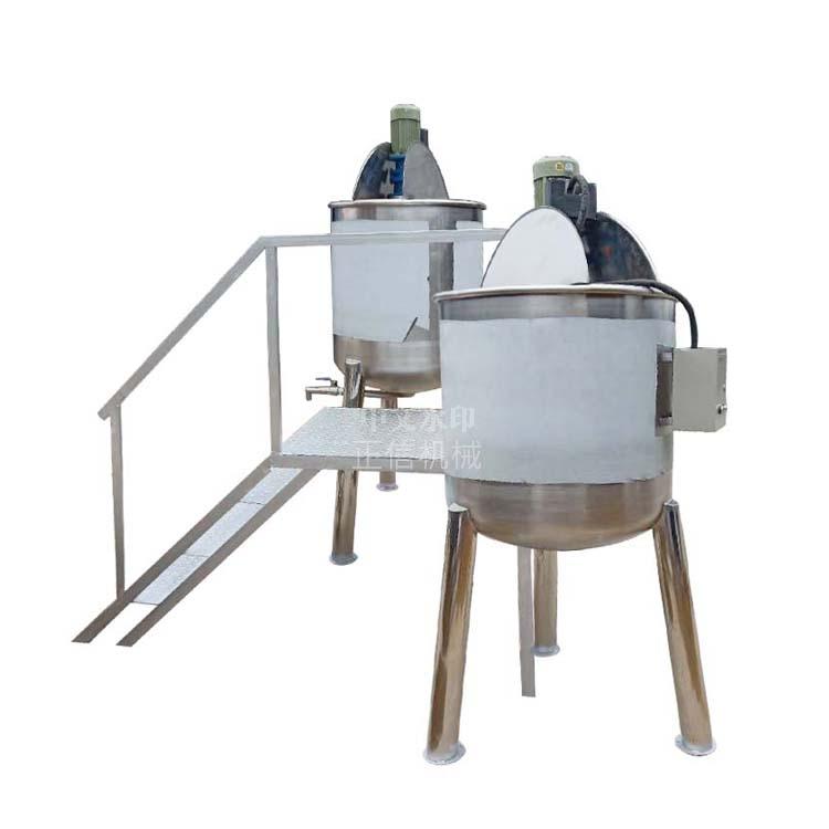 304耐腐蚀 化工搅拌罐 电加热搅拌桶 不绣钢乳化罐