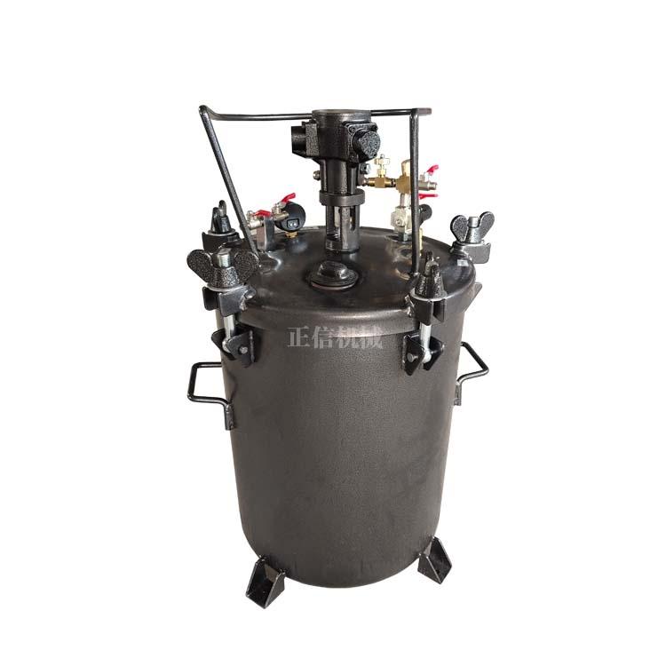 小型喷涂机 全自动搅拌喷涂机 喷漆压力罐
