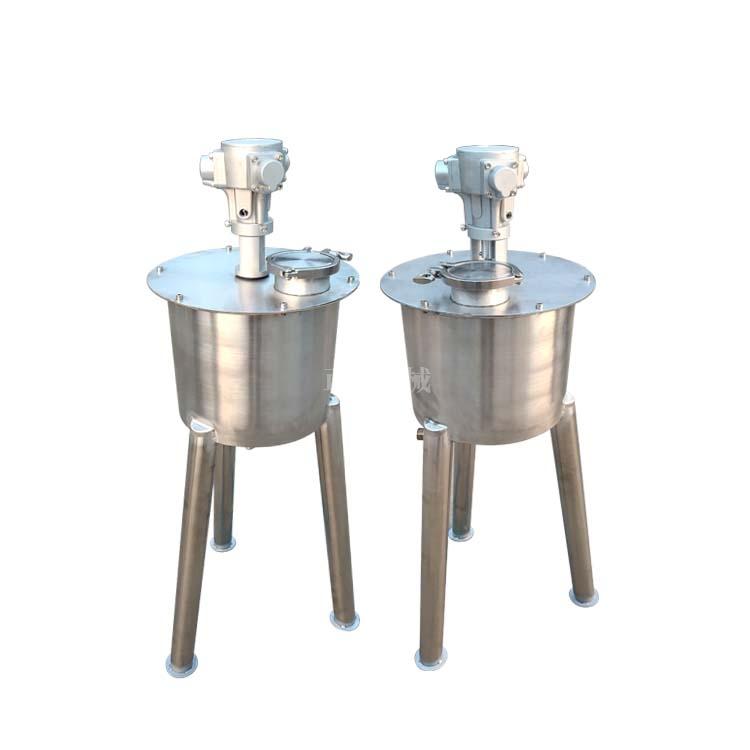 小型搅拌罐 气动调速搅拌桶 防爆搅拌桶
